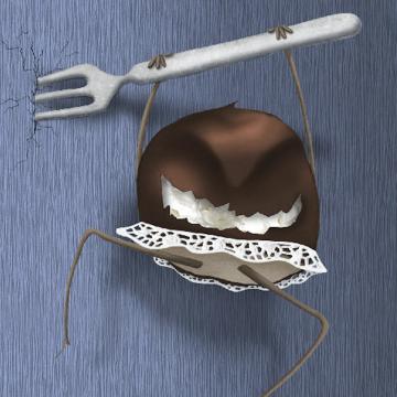 Bossche bol illustratie Merel van Lamoen